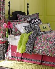 Majella Marzipan by Legacy Home Pink Paisley and Zebra Full Size Set