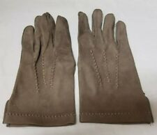Vintage Womens Gates Leather Gloves: Brown Size L Large Women's FREE SHIPPING