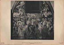 Lithografie: Fotografie, Malerei, Fresko, Martin Schongauer, Mittel Weltgericht.