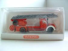 Wiking 862 39 39 H0 1/87 Feuerwehr Drehleiter Magirus DL 25 h  OVP B97