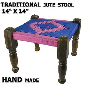Stool Furniture Seating Jute TADITIONAL HAND MADE
