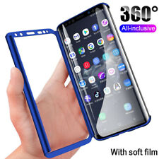 360° Full Cover Hard Case For Samsung Galaxy Note 9 / Note 8 + Screen Protector