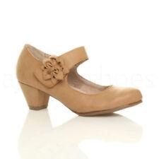 Scarpe da donna spilliamo marrone tacco medio ( 3,9-7 cm )