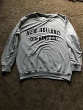 (L@K) Holland Brewing Beer Company Gray Sweatshirt Size Xl New
