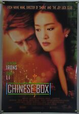 CHINESE BOX DS ROLLED ORIG 1SH MOVIE POSTER GONG LI MAGGIE CHEUNG (1997)