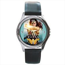 Wonder Woman 2017 leather strap  watch  /wristwatch
