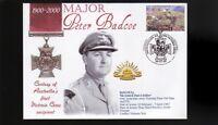 AUSTRALIAN ANZAC VICTORIA CROSS 100th ANNIV COV, Major PETER BADCOE
