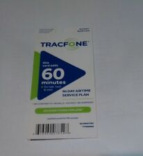 Brand New TracFone Airtime/Refill Card 60 Minutes / 90 Days Doubles or Triples