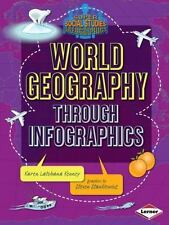 World Geography Through Infographics (Paperback or Softback)