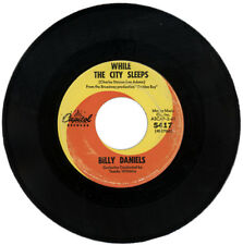 """BILLY DANIELS  """"WHILE THE CITY SLEEPS c/w NIGHT SONG""""  NORTHERN SOUL"""