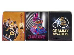 3 Grammy Programs from 2007, 2015 & 2018 Los Angeles New York City Mastodon