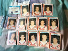 1979 Rugby League Trading Cards Scanlens NRL NSWRL Complete 156 Writing On Lists