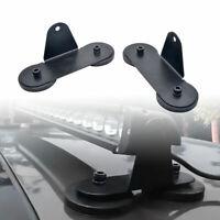 Mount LED Light Strong Base Bracket Roof Magnetic Holder Fits Car SUV Bar