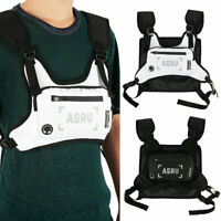 Chest Rig Waist Bags Tactical Harness Chest Bag Streetwear Hip Hop Fanny Pack US