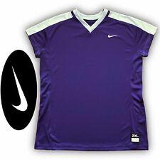 Nike Women's Vapor Stock Softball Jersey Size XXL Purple V-Neck NWT New