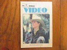 1984 The News Tribune (Ma)Video TV Mag(JANE ALEXANDER/CALAMITY JANE/BRIAN KEITH)