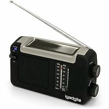iGadgitz U4457 Portable AM/FM Radio