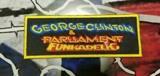 EMBROIDERED GEORGE CLINTON FUNK BAND PATCH
