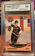 1990-91 PRO SET NHL ALL STAR-#340-Wayne Gretzky-Campbell Conf.-Center GMA 10