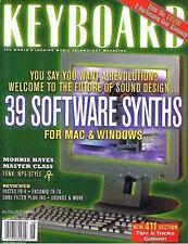 Gary Numan CARS Fostex FD-4 Rec,Ensoniq ZR-76 Keyboard Rev 1998 Magazine VG Cond