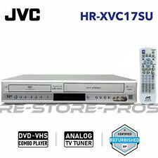Jvc Hr Xvc17su Dvd Vcr Combo Player Hi Fi Stereo Pro Scan With Oem Remote Manual