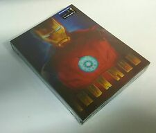 IRON MAN Blu-ray STEELBOOK LENTICULAR [BLUFANS] BRAND NEW / OOP / REGION FREE