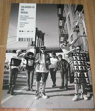 Block B BLOCK-B IN USA! K-POP PHOTO BOOK PHOTOBOOK + DVD + FOLDED POSTER SEALED