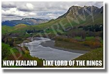 New Zealand - Like Lord of the Rings - NEW World Travel POSTER
