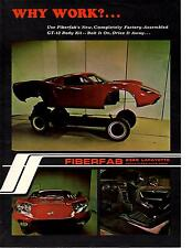 1969 FIBERFAB GT-12 BODY KIT  ~ ORIGINAL PRINT AD