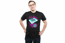 DJ Turntable T-shirt, Graphic Tee,Neon, 100% Cotton, Black (Adult's : S,M,L,XL)