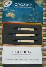 Crozier Cane Drone Reeds for pipes highland bagpipe