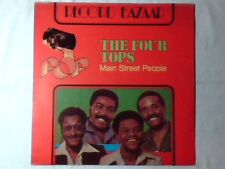 FOUR TOPS Main street people lp ITALY UNIQUE PICTURE SLEEVE