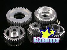 GPM ALUMINUM 7075 GEAR SET 2 SPEED CENTER BOX HPI 1/8 SAVAGE 21 25 SS 3.5 4.6 X