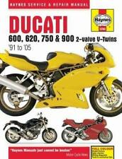 Haynes DUCATI 600 620 750 900 SS M SL  1991-2005 Owners Workshop Manual Handbook