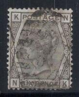 Großbritannien 1873 Mi. 44 Gestempelt 60% 6 Pence, Königin Victoria, K, N