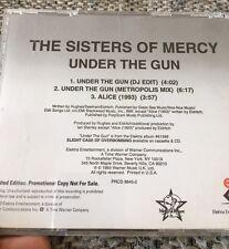 SISTER OF MERCY Under THE GUN Promo CD
