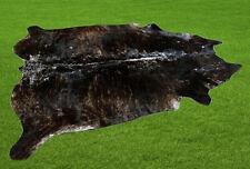 "New Cowhide Rugs Area Cow Skin Leather 30.50 sq.feet (72""x61"") Cow hide U-6430"