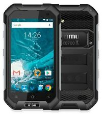 Komu X1 Rugged Black, Dual SIM, 4G LTE, Garanzia Italia