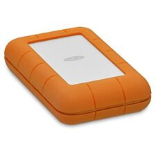 LaCie Rugged 5TB Thunderbolt USB-C Portable Hard Drive (STFS5000800)