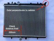 NEW RADIATOR PEUGEOT 307 CITROEN C4/XSARA  2.0HDi/2.0i H/DUTY 26MM CORE 2000 ON