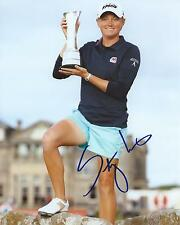 Stacy Lewis Signed 8×10 Photo LPGA Autographed COA