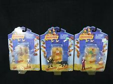 Playmates Chicken Run (2000) 3 Mini Figure Sets of 3 40201 40202 & 40203