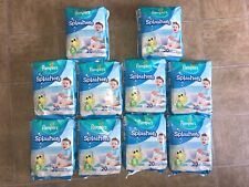 10 PACKS PAMPERS SPLASHERS DISPOSABLE SWIM PANTS DIAPERS SMALL 13-24 LB  200 PCS