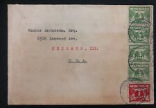 1931 Purmerend Netherlands Cover To Chicago IL USA