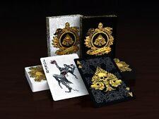 Arcanum 2 Deck Set White Black Playing Cards Poker Size USPCC Custom Limited New