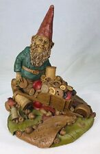 Tom Clark Gnome Taylor with Buttons & Thread #1089 Edition #30 Cairn Studios Coa