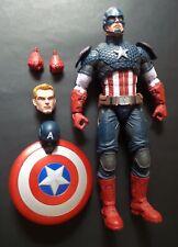 Marvel Legends Captain America 12? Loose Action Figure Hasbro Avengers Comics