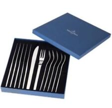 Villeroy & and Boch GOURMET - 6 steak knives and forks cutlery NEW BOXED