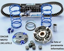 241.670.2 SET HI-SPEED POLINI YAMAHA : AXIS 50 - BREEZE 50 - CRZ 50 - JOG 50 Z
