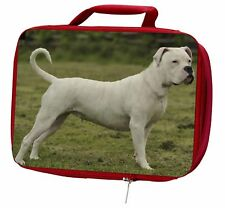 American Staffordshire Bull Terrier Dog Insulated Red School Lunch B, AD-SBT9LBR